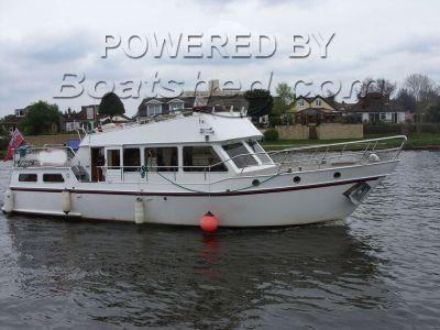 Vrijbuiter 44 Steel Motor Cruiser