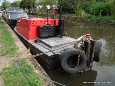 Pusher Tug 20ft with enclosed work flat