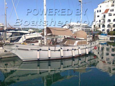 Hudson Force 50 Ketch Blue Water Cruiser
