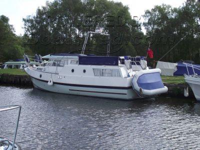 GRP 37 foot Cruiser with Command Bridge