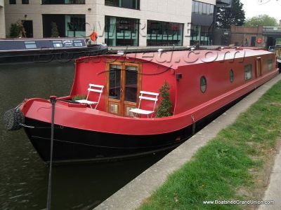 Wide Beam 55 Reverse Layout Houseboat