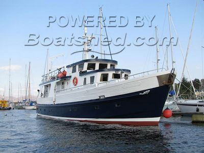 Charter boat 68ft Cruise or live-aboard vessel