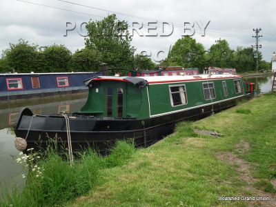 Narrowboat 45ft Cruiser Stern New Fit out