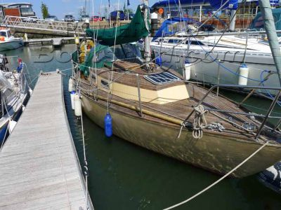 Wooden  Sloop 23'