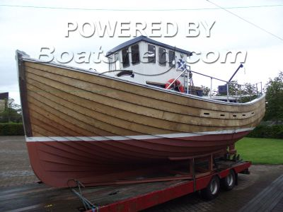 Clinker Creel Fishing Boat