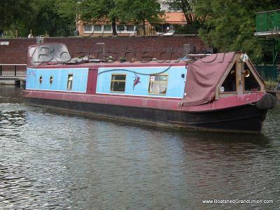Narrowboat 55ft Cruiser Stern Live-aboard