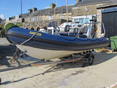Humber Destroyer 5.5m RIB