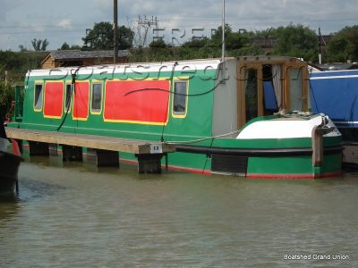 Narrowboat 60ft Cruiser Stern Aluminium Hull