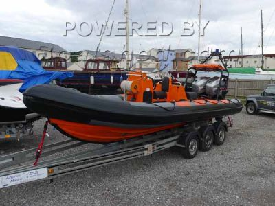 Ribcraft 6.5m ex Lifeboat