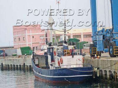 Custom Steel Beam Trawler Diveboat