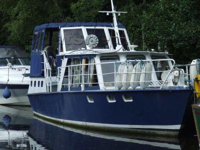 De Groot 42 Dutch Steel Cruiser