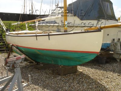 Wooden  Gaff Rigged Sloop Day Boat