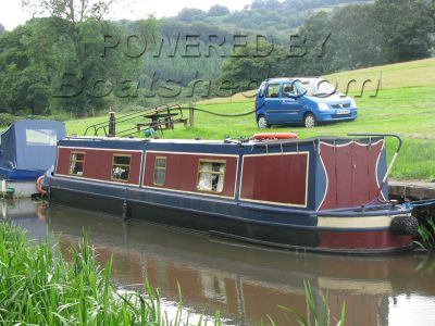 Narrowboat 45ft