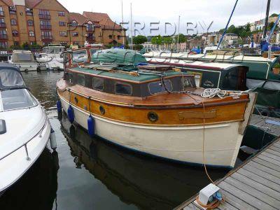 Classic Aluminium Converted lifeboat