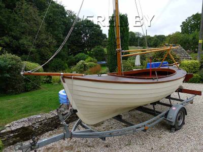 Orkney Yole Classic Clinker Built Day Sailer