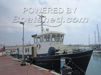 Custom Ice Class Tug Salvage/Diveboat
