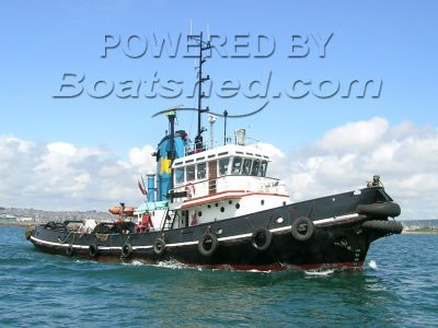 Deep Sea Salvage Tug Custom Built