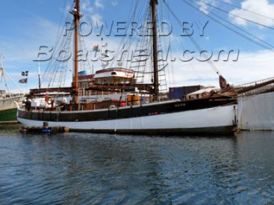 Baltic Trader Gaff Ketch