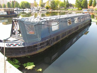 Narrowboat 59ft