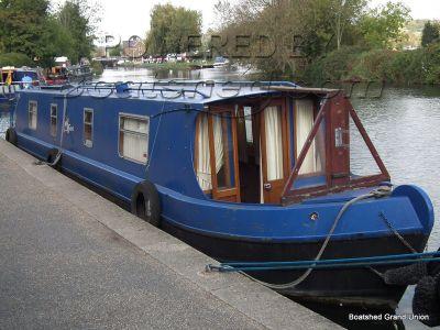 Narrowboat 45ft Cruiser Stern Live-aboard