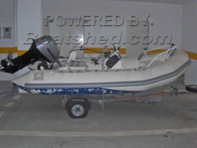 Zodiac rigid inflatable boat