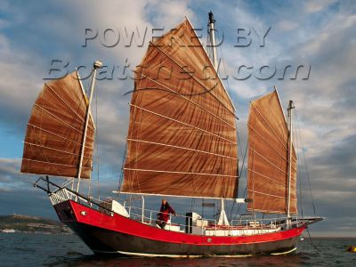 Chinese Junk Triple Masted Steel hull