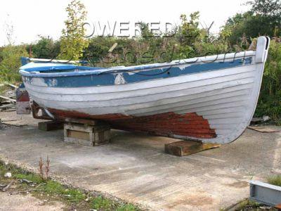 Wooden  Ex Fishing Vessel Cromer Shanty