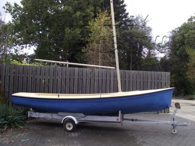 Fox Cub 18 UFFA Fox replica sailing dinghy