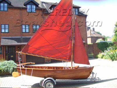 Wooden  Day Boat Tideway style