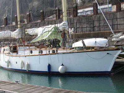 Gaff Rigged Ketch Aft Cabin, Blue Water Cruising Yacht