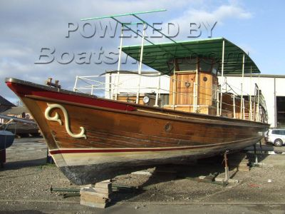 Classic Victorian  Passenger  Boat