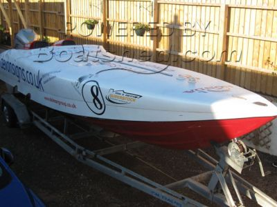 Cougar Honda 225 Race Boat Offshore Powerboat