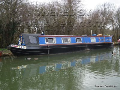 Narrowboat 50ft TradStern David Piper Live-aboard