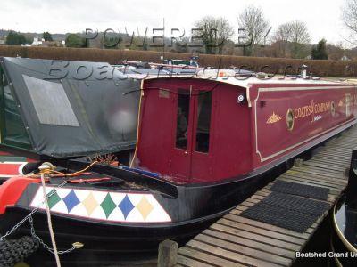 Narrowboat 57ft Trad Stern Live-aboard