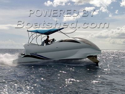 Paritetboat Looker 320 Glass Bottom Hydrofoil
