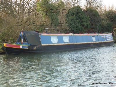 Narrowboat 62ft Historic Vessel