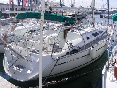 Jeanneau Sun Odyssey 40 3 cabin layout