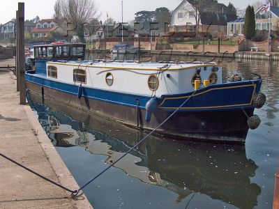 Narrowboat 40ft Dutch Barge Style Narrowboat