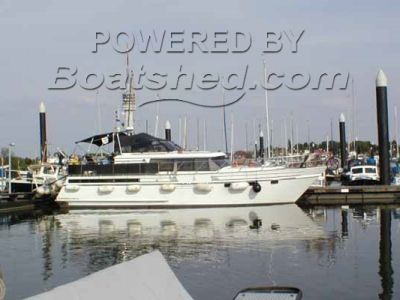 Super Falcon 45 Aft Cabin Steel Cruiser