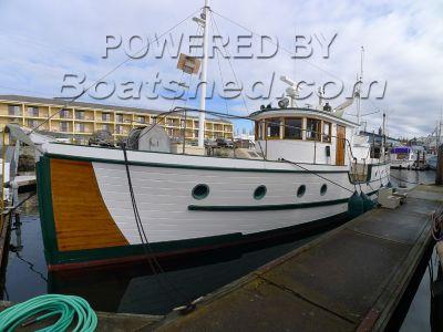 Custom Coastal Cruiser 1927 Classic Yacht
