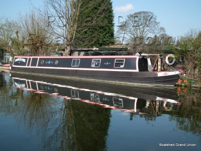 Narrowboat 57ft Trad Stern with Gardner Engine