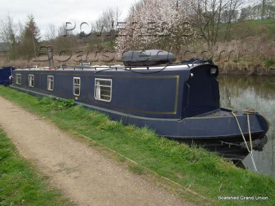 Narrowboat 55ft Cruiser Stern Reverse Layout Live-aboard