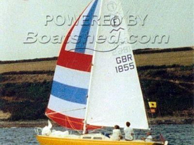 Marieholme 26 Folkboat