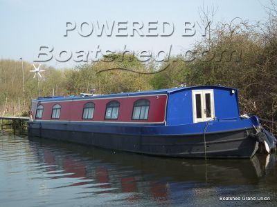 Wide Beam Houseboat Live Aboard