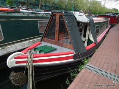 Narrowboat 57ft Trad Stern