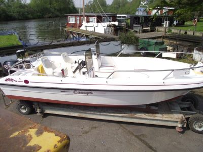 GRP Dayboat Cetus Escape Day/Fishing Boat