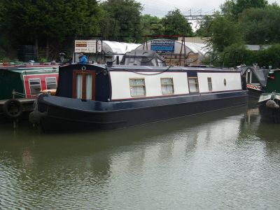 Narrowboat 58ft Cruiser Stern Kingfisher