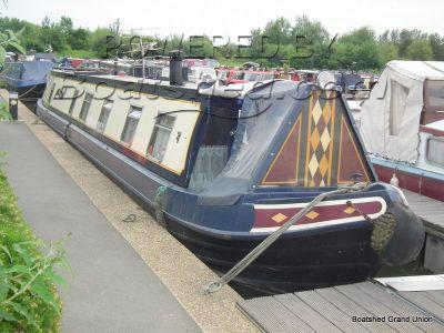 Narrowboat 63ft Trad Stern Liveaboard
