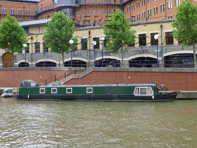 Narrowboat 62ft Black Prince Semi Trad