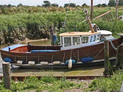 Fishing Boat 28 Clinker built Creel style